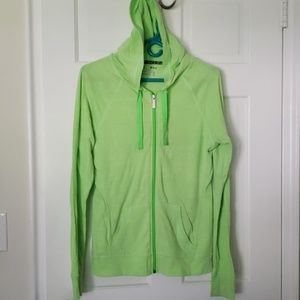 Green Under Armour Running Hoodie